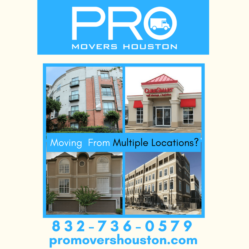 832 736 0579   Pro Movers Houston